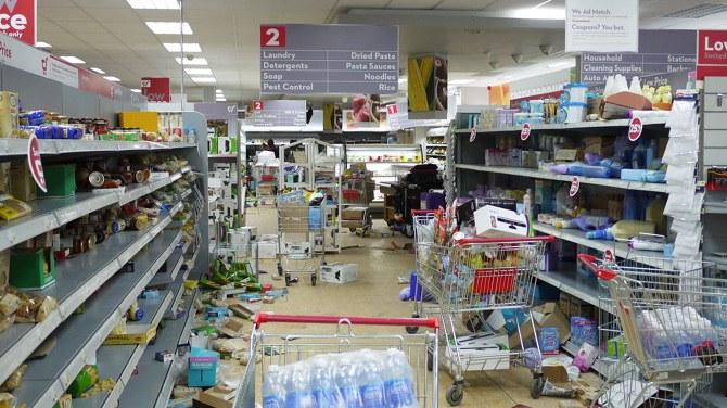 Le thème musical du mois : Panique au Supermarché.
